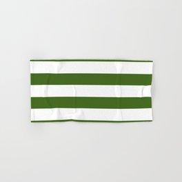 Simply Stripes in Jungle Green Hand & Bath Towel