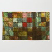 blanket Area & Throw Rugs featuring Blanket by Lyssia Merrifield
