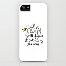 Just Leap iPhone Case