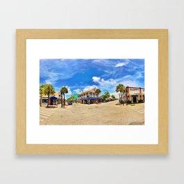 Duvalscape Framed Art Print
