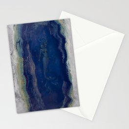 Siren Geode...a calling from the abyss Stationery Cards