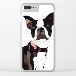 Nadia's Boxer Clear iPhone Case