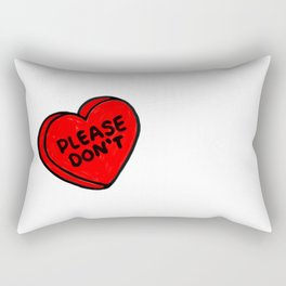 Conversations over Rectangular Pillow