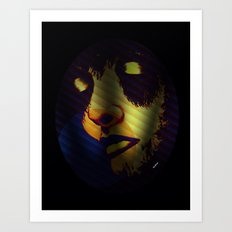 She Once Was 2 Art Print