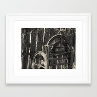 rustic Framed Art Prints featuring Rustic by BellaJul Photography