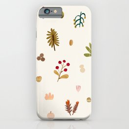 Abstraction_Woodland_Exploration_01 iPhone Case