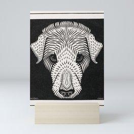 Dog's head (1920) by Julie de Graag (1877-1924) Mini Art Print