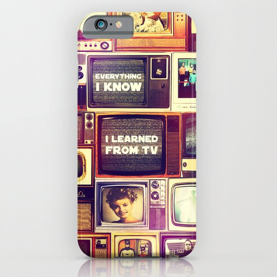 Everything I Know iPhone & iPod Case