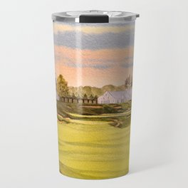 Whistling Straits Golf Course 9th And 18th Travel Mug