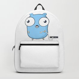 Golang - gopher wizard Backpack