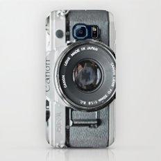 Vintage Camera Phone Slim Case Galaxy S8