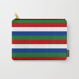 gambia flag stripes Carry-All Pouch