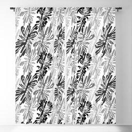 Bark beetle galleries seamless pattern Blackout Curtain