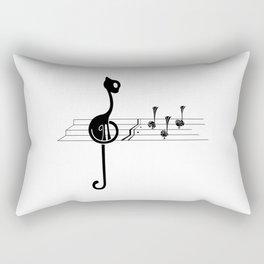 stave Rectangular Pillow