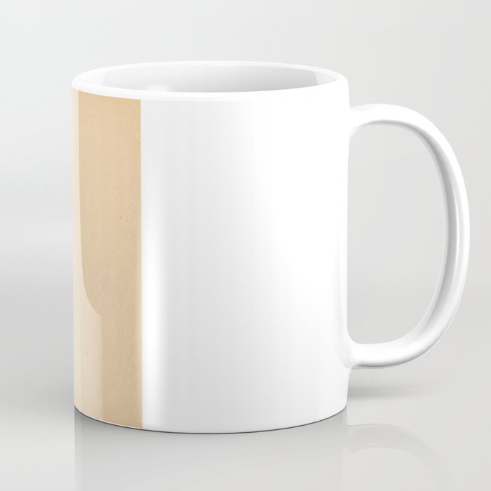 Delaware - State Papercut Print Coffee Mug