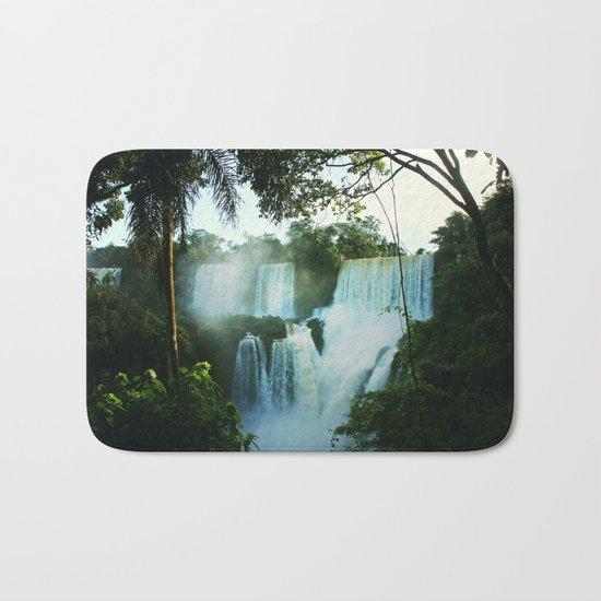 Wonderful Waterfall Bath Mat