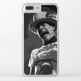 Ahead by a Century - Gord Downie from the Tragically Hip (alternate) Clear iPhone Case