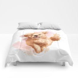 Golden Retriever Puppy Comforters