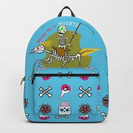 Design de la Muerte - Triumph of Death 1 (blue) Backpack