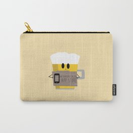 Not available on the app store: beer Carry-All Pouch