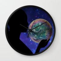 bubble Wall Clocks featuring Bubble by Cs025