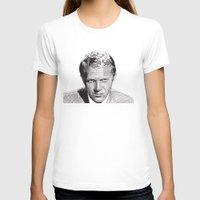 steve mcqueen T-shirts featuring Steve by Rik Reimert