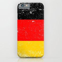 Flag of Germany Grunge iPhone Case