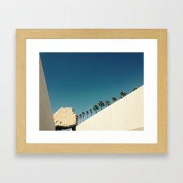 Levitated Love Framed Art Print