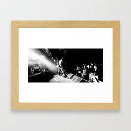 The PUSHER live Framed Art Print