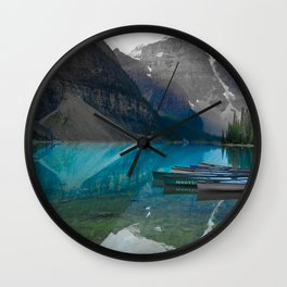 Chill Lake side collection Wall Clock