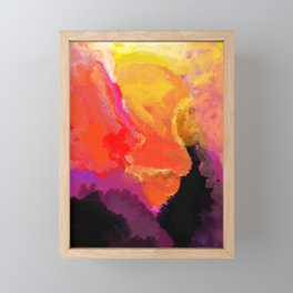 Chaos Framed Mini Art Print