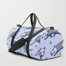 Opossum Pattern Duffle Bag