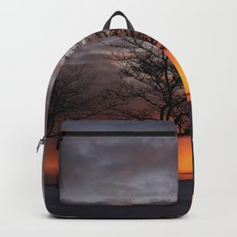 Sunrise on the Marina 2 Backpack
