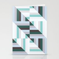 60s Stationery Cards featuring Maze | 60s by Wood + Ink