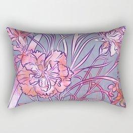 Carnation Creation Rectangular Pillow