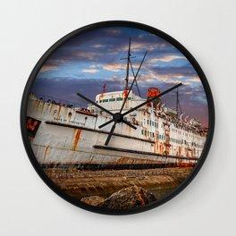 Duke of Lancaster Sunset Wall Clock