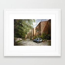Castel del Piano Framed Art Print