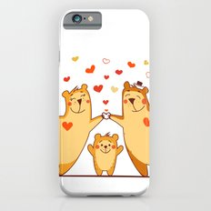 Family of bears Slim Case iPhone 6s