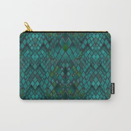 Digital graphics snake skin. Carry-All Pouch