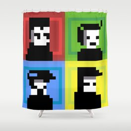The Color Junkies Shower Curtain