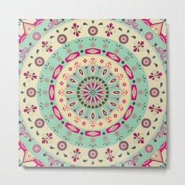 AFE Flower Mandala Metal Print