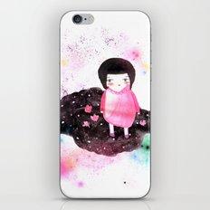 Girl in Cloud iPhone & iPod Skin