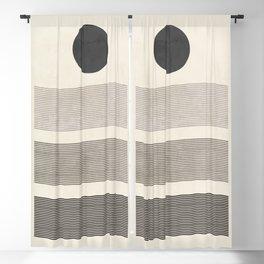 Minimal Geometric 151 Blackout Curtain