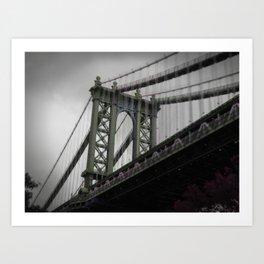 Manhattan Bridge (NY) Art Print