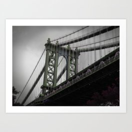 Manhattan Bridge (NY) Art Print