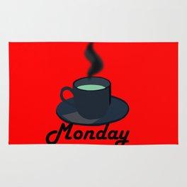 Monday coffee Rug