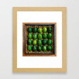 Box of Limes Framed Art Print