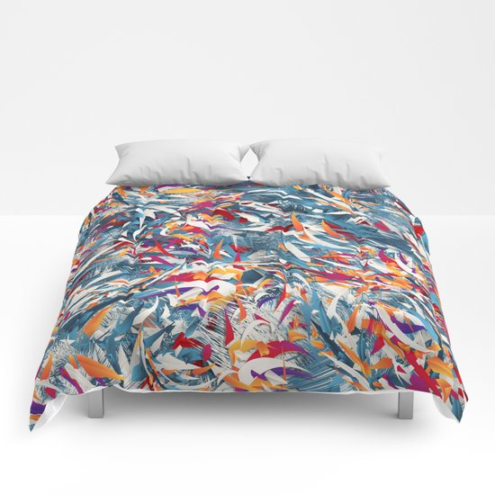 Excited Colours Comforters