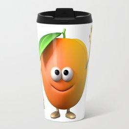 FUNNY APRICOT Travel Mug