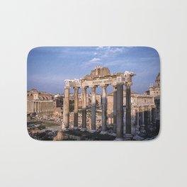 Roman Ruins - Vintage photography Bath Mat
